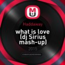 Haddaway - What is Love (dj Sirius mash-up)