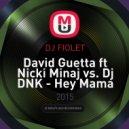 David Guetta ft Nicki Minaj vs. Dj DNK - Hey Mama (DJ FIOLET Mash Up)