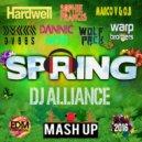 Hardwelll, DANNIC, DVBBS, Marco V, O.B, Warp Brothers, WolfPack, Sophie Francis  - Spring (DJ ALLIANCE Mashup) (Mashup)