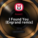 Axwell  -  I Found You  (Evgrand remix)