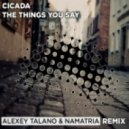 Cicada - Things You Say (Alexey Talano & Namatria Remix)