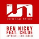 Ben Nicky feat. Chloe - Anywhere (Exis Remix)